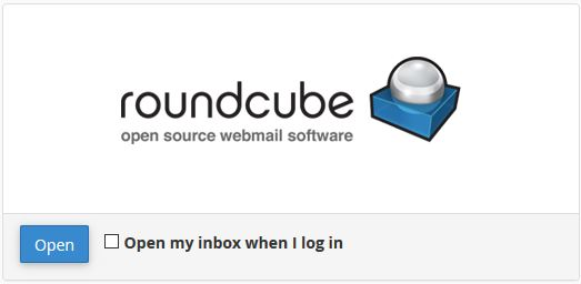 select roundcube